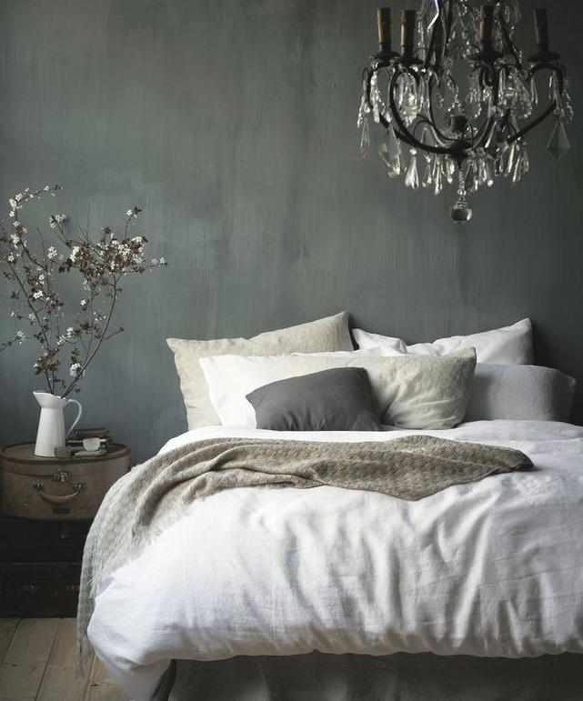 Szara sypialnia mavelo - Donkere gang decoratie ...