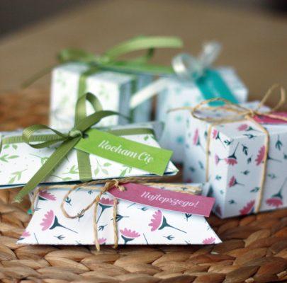 Pudełeczka na prezenty w 3 wzorach | DIY