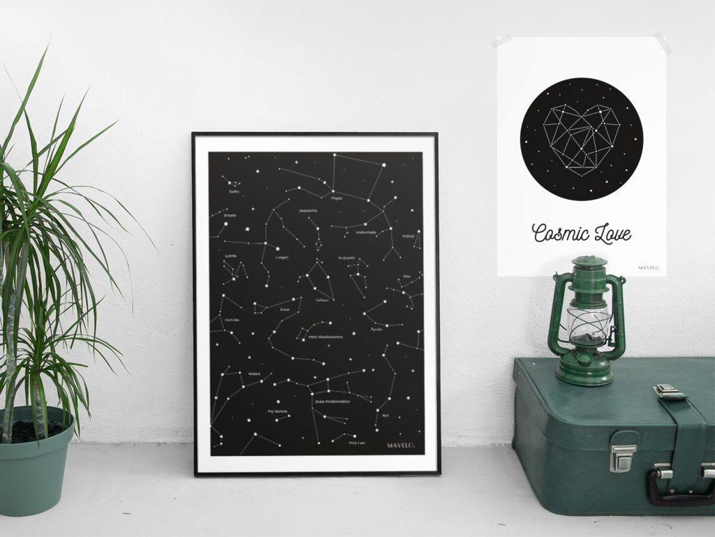 plakaty z gwiazdami