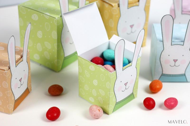 pudełka na Wielkanoc