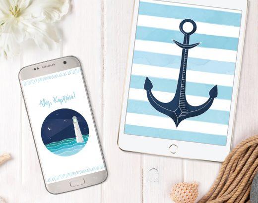 Marynarskie tapety na telefon i tablet