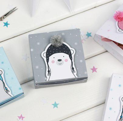 DIY: Pudełka z misiami na prezenty i słodkości