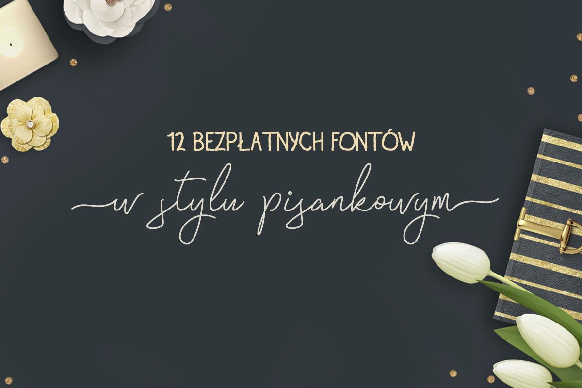 fonty kaligrafia