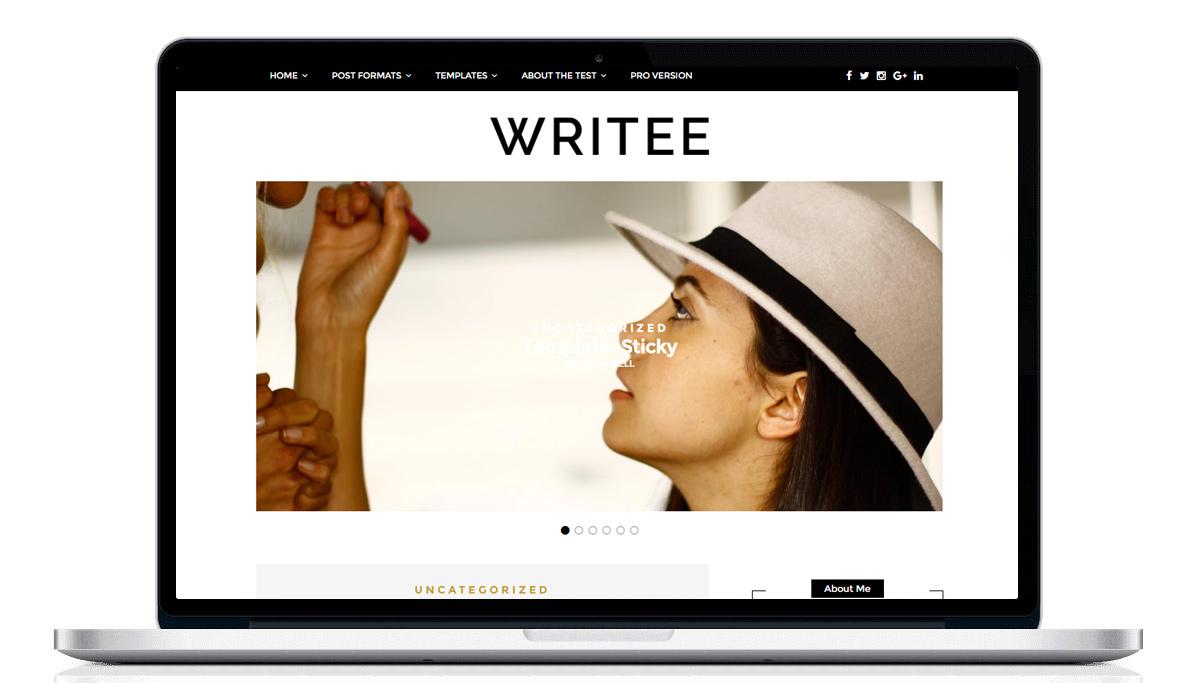 bezpłatne szablony na bloga / free wordpress templates