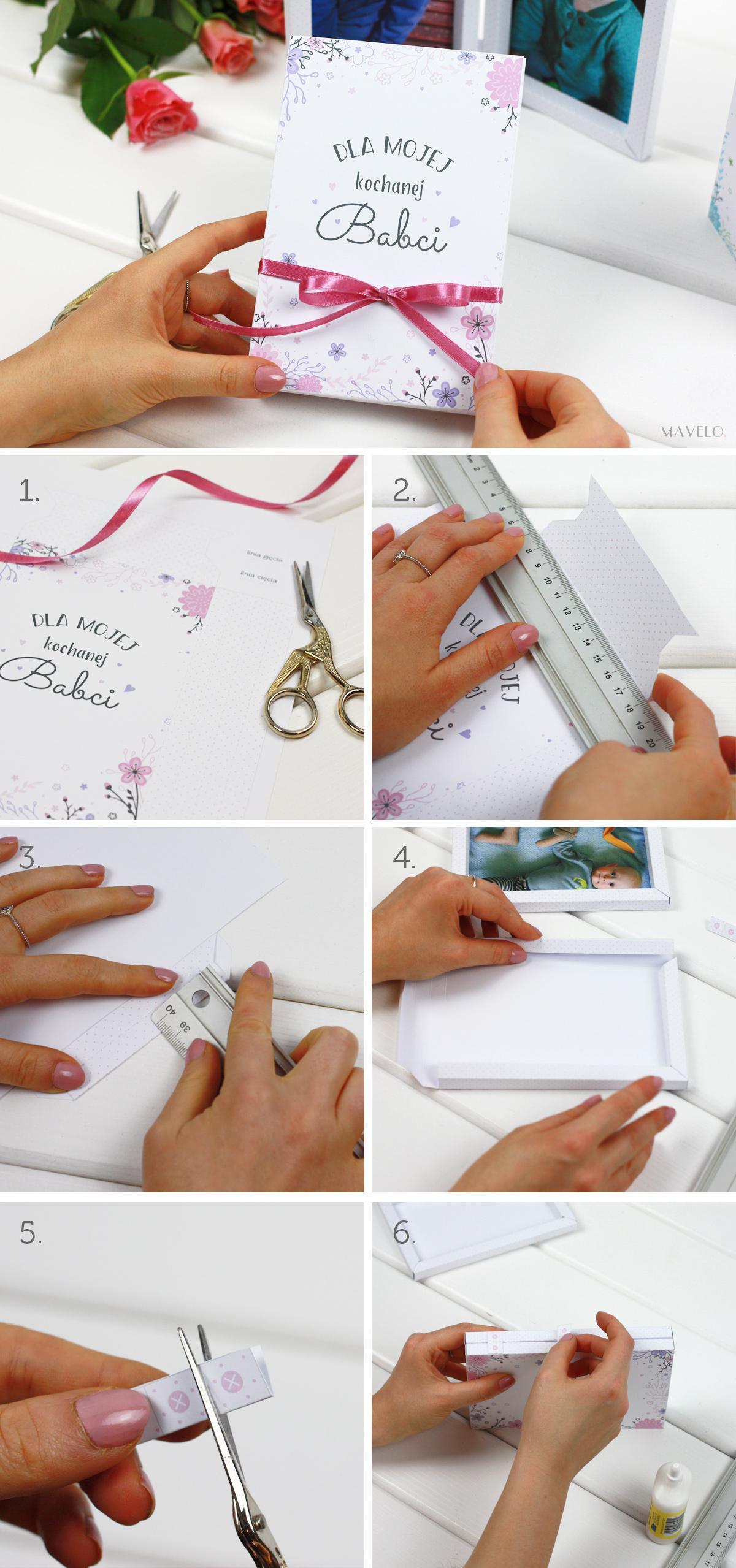 DIY: Laurki-ramki na Dzień Babci i Dzień Dziadka