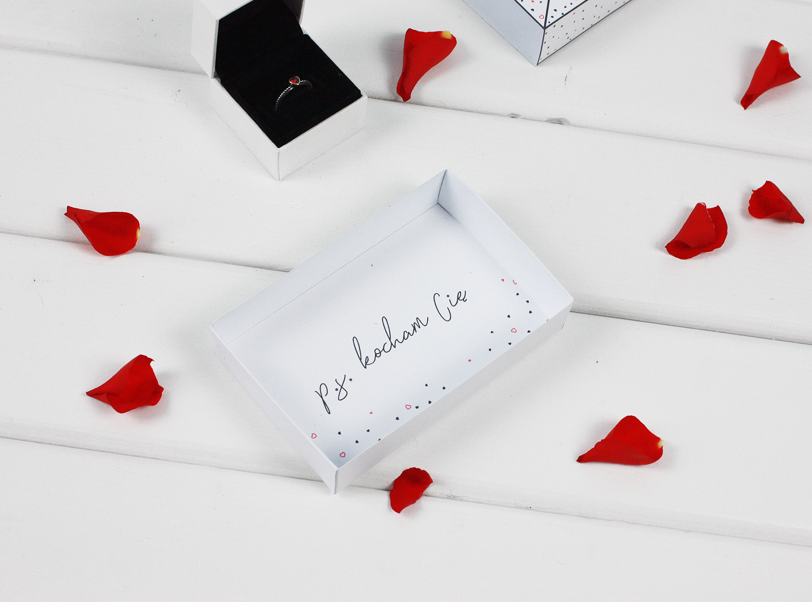Masz wiadomość - pudełko do druku / prezent na Walentynki