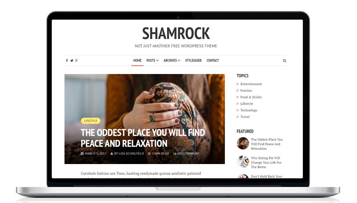 bezpłatne szablony na WordPress