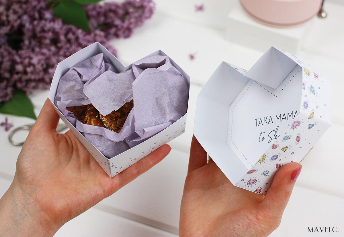 Pudełeczka do druku - prezent na Dzień Mamy