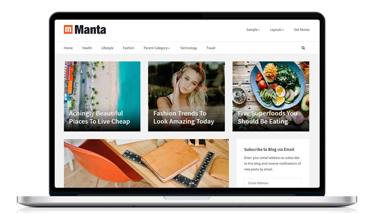 10 bezpłatnych motywów – WordPress
