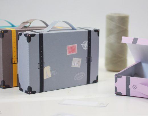 Pudełko-walizka – na drobiazgi, słodkości i wakacyjne skarby