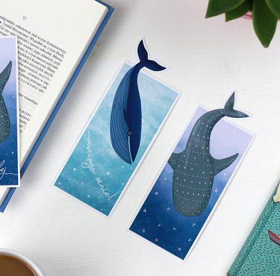 Morskie kreatury – ogoniaste zakładki do książek