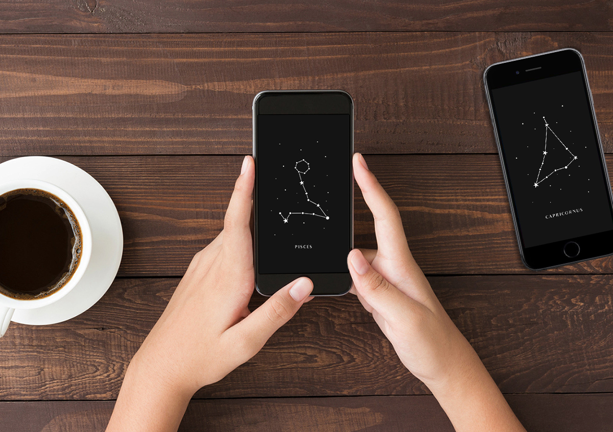 Znaki zodiaku - tapety na telefon