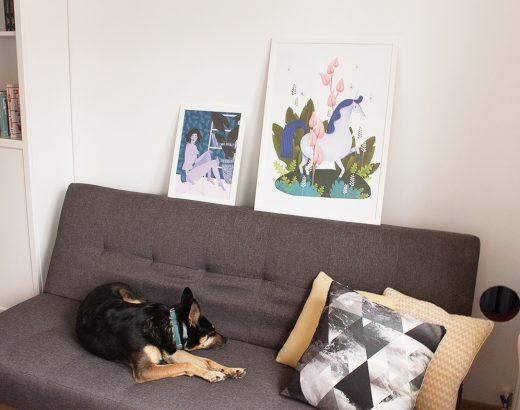 5 nowości w moim mieszkaniu – stary fotel, używane krzesła i nowe dodatki