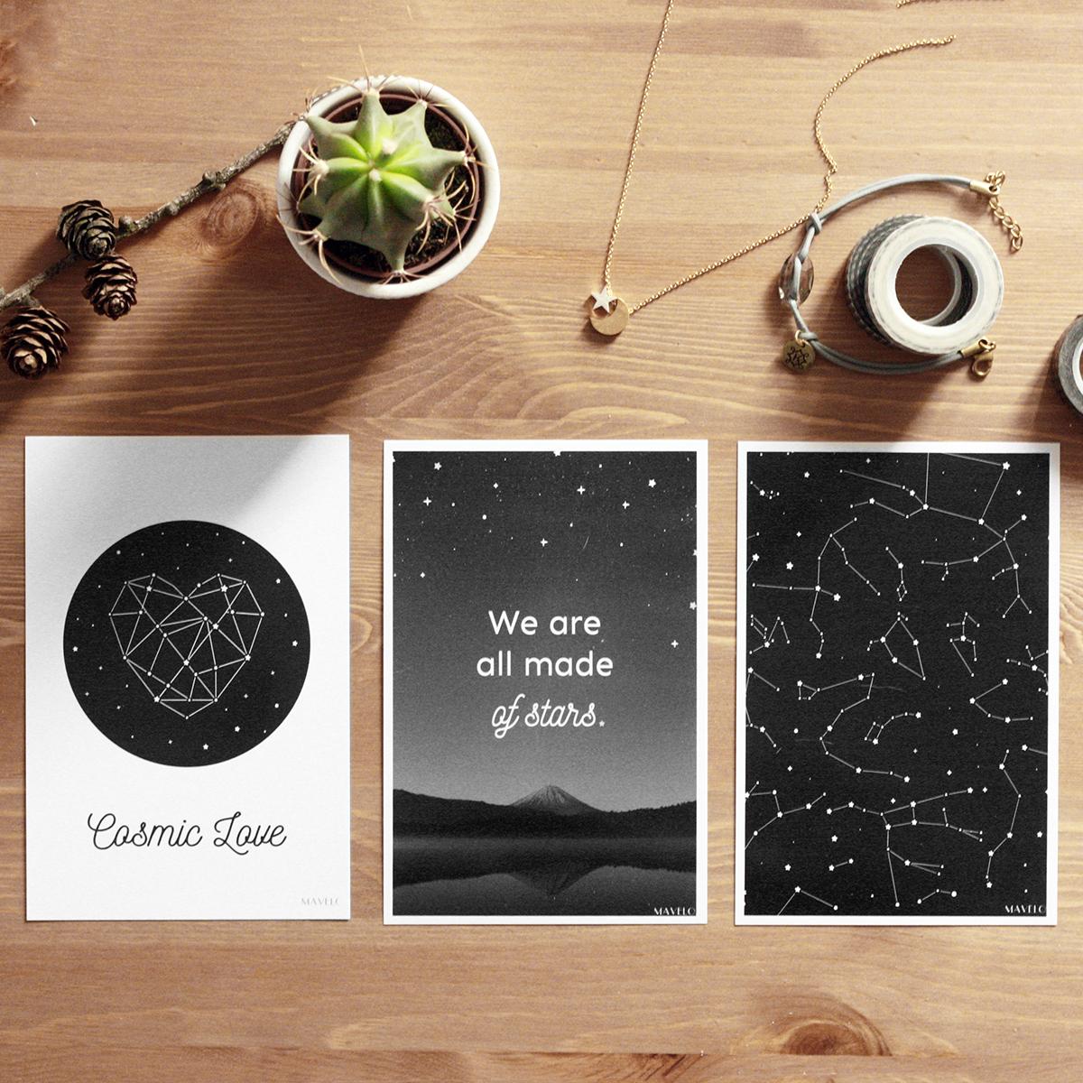 Plakaty Z Gwiazdami Do Wydrukowania Mavelo