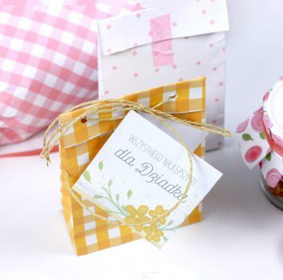 DIY: Prezenty, opakowania, etykiety na Dzień Babci i Dzień Dziadka