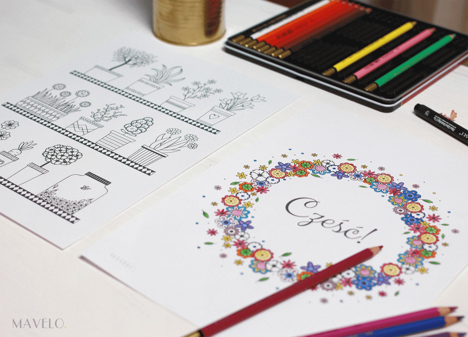 kolorowanki dla dorosłych do druku