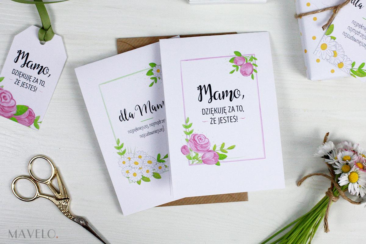 kartki i etykiety na Dzień Mamy | mavelo.pl