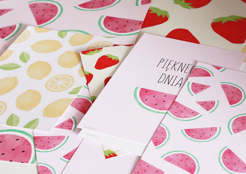 owocowe plakaty do wydrukowania