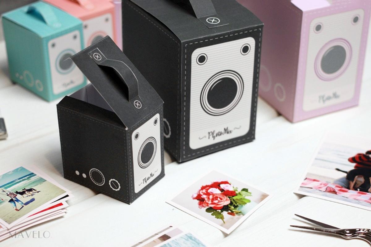 Papierowy aparat fotograficzny