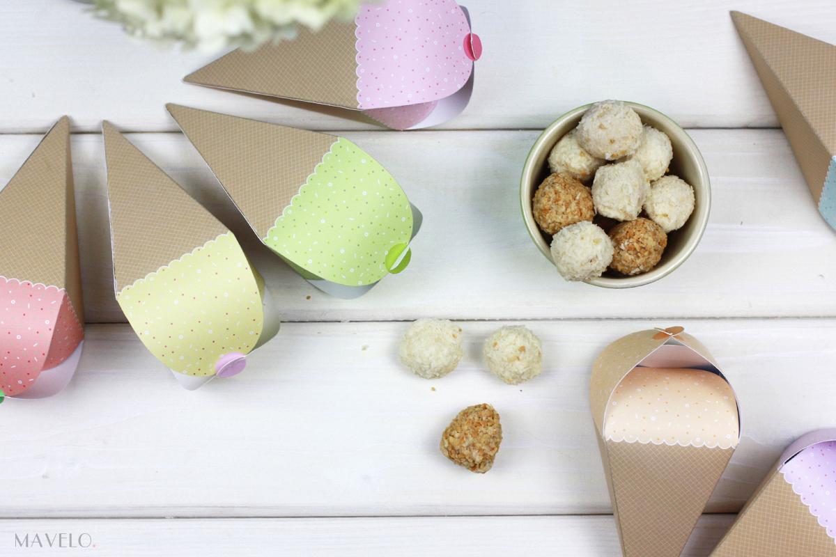 Pastelowe pudełeczka lody