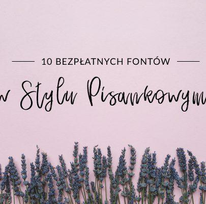 10 bezpłatnych, pisankowych fontów #4
