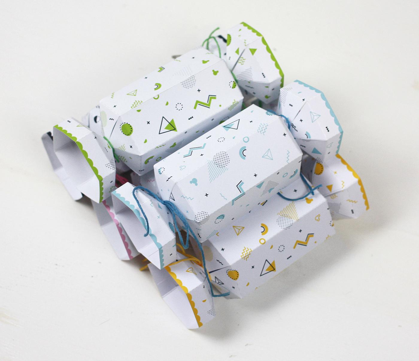 Pobierz i wydrukuj: pudełko na cukierki