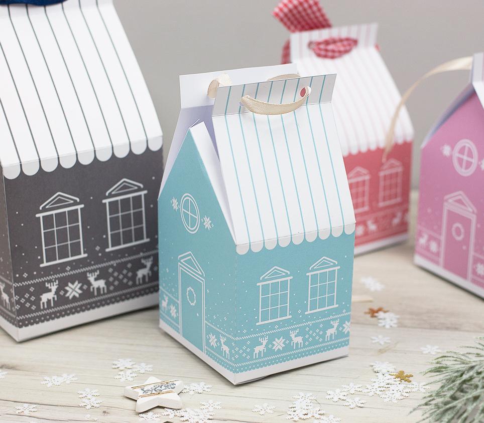 Papierowe domki do druku