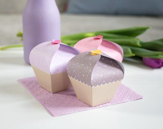 Muffiny – kolorowe pudełeczka do druku