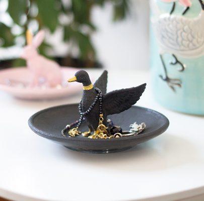 DIY: Podstawki na biżuterię ze zwierzętami