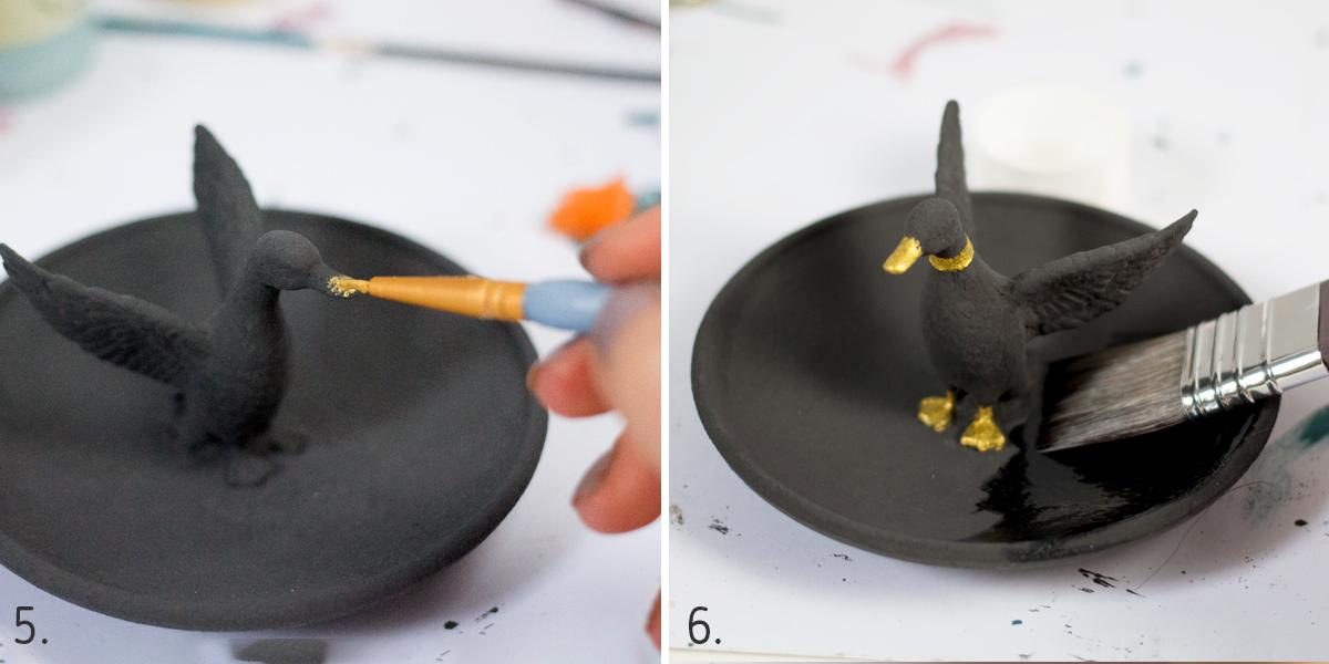 DIY: Podstawka na biżuterię