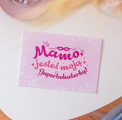 Kartki i plakaty do druku dla Mamy! Superbohaterki ♡