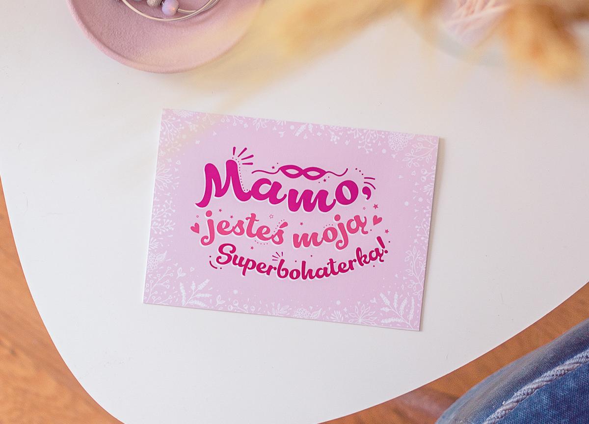 Kartki do druku dla Mamy