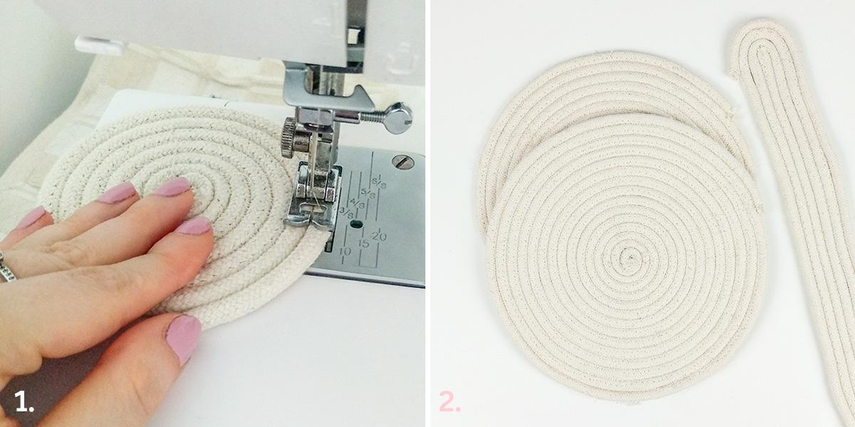 Torebka ze sznurka: DIY