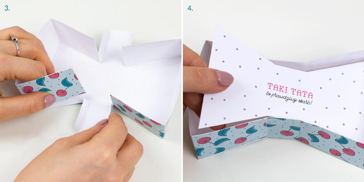Pudełko-mucha - pomysł na prezent na Dzień Ojca
