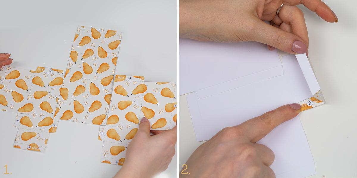 DIY: Kubik na karteczki