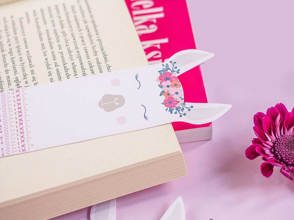 Zakładki do książek do wydruku - lamy
