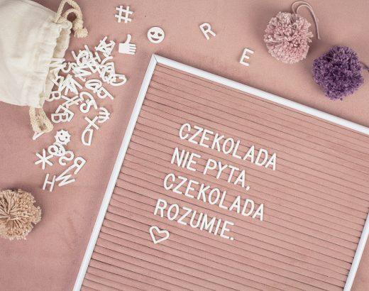 DIY: Tablica na literki / Letter board – modny dodatek do wnętrz!
