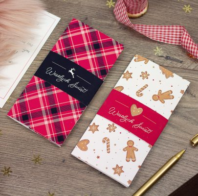 Etui / koperta ze świątecznym motywem – na pieniądze, bony podarunkowe …i prezenty niematerialne :)